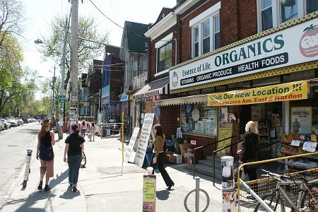 In the Kensington Market