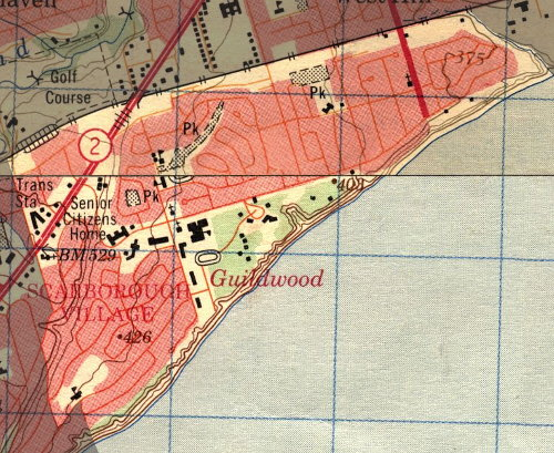 map of Guildwood Village