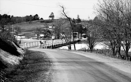 Photo of bridge on Brass Point Road