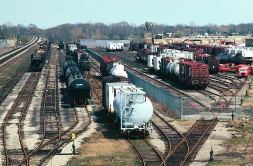 Boldts Net Album Danforth Freight Yard