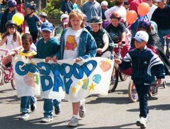 Children leading the parade