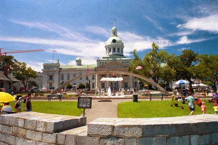 Photo of Kingston city hall