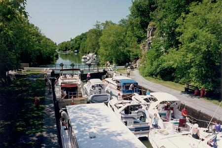 Photo of Rideau Canal Lock 49 at Kingston Mills