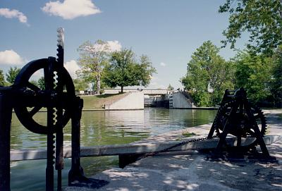 Photo of Rideau Canal Locks at Kingston Mills
