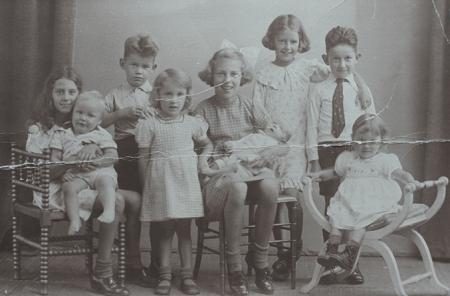 Moll children, ca. 1939