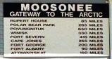 Moosonee sign