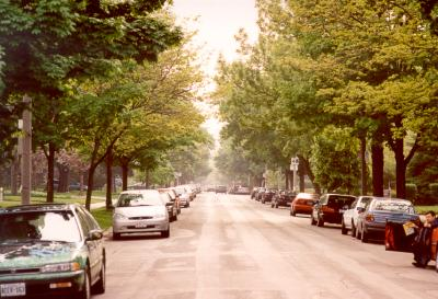 High Park Boulevard at Roncesvalles