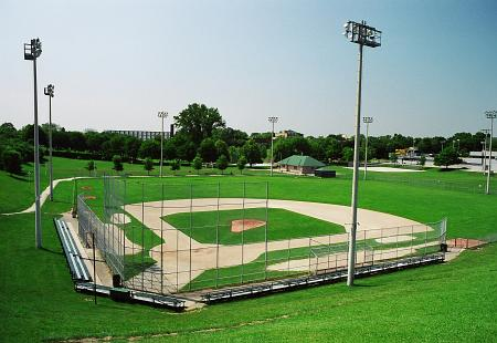 Photo of baseball diamond at Christie Pits