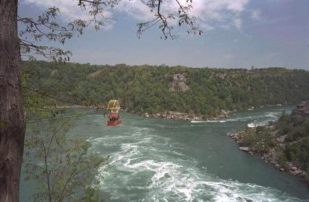 Photo of whirlpool in Niagara River