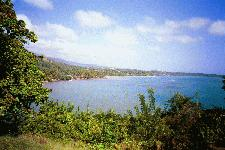 Atlantic coast of Grenada